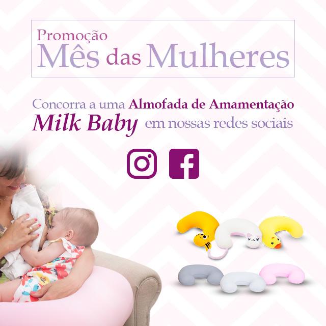 Sorteio Milky Baby