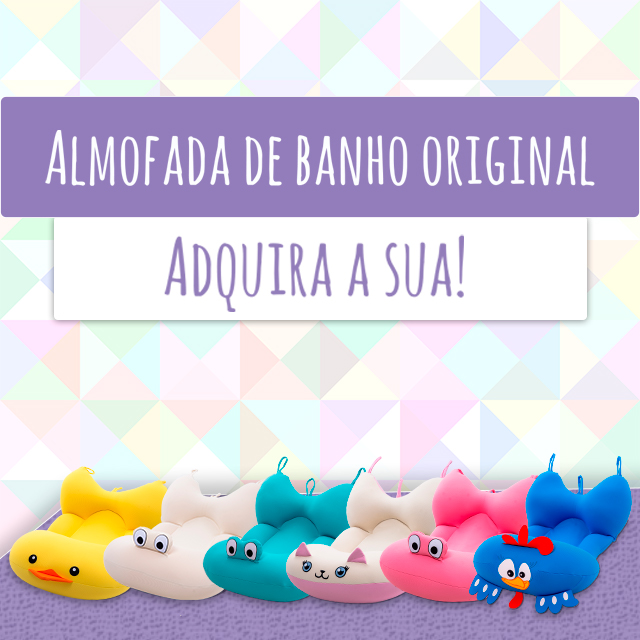 Almofadas de Banho Originais Baby Pil