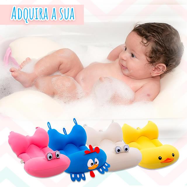 Almofadas de Banho Para Bebê