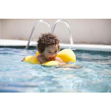 Boia para Piscina Octopus - Amarela - Baby Pil