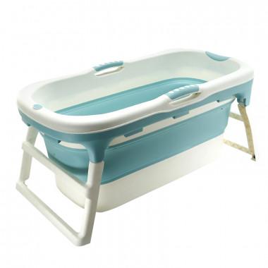Banheira grande dobrável - Azul