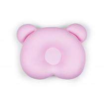 Almofada Ergonômica para Cabeça Ursinho - Rosa