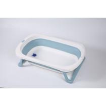 Banheira dobrável pequena - Azul