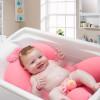 Almofada de Banho para Bebê - Rosa 5