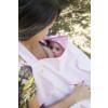 Kit 3: Almofada para banho + Avental para amamentação + Toalha infantil com alça 3