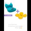 Kit 5: Almofada para banho + Boia de piscina Octopus